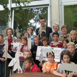 500 Euro Scheck von der SPD-Fraktion an die Paul-Gerhard-Schule