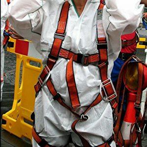 Erika Coché fertig zum Einstieg in den Kanal