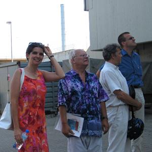 Julia Deike, Gerd Heidemann, Ernst-Michael Epstein und Wilfried Klein