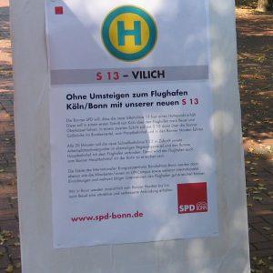 Plakat zur  S 13