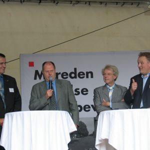Wilfried Klein, Ministerpräsident Steinbrück, Wolfgang Hürter, Uli kelber