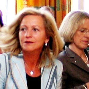 Preisträgerin 2005 - Angelika Marquardt mit Oberbürgermeisterin Bärbel Dieckmann