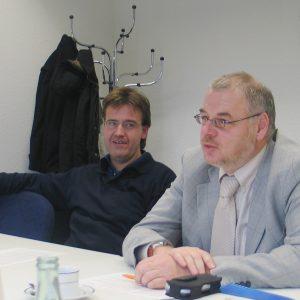Wilfried Klein und Martin Schilling
