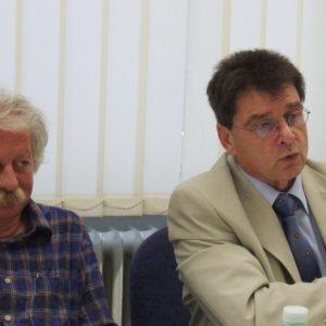 Dr. Uwe Naß und Rolf Eichenhorst