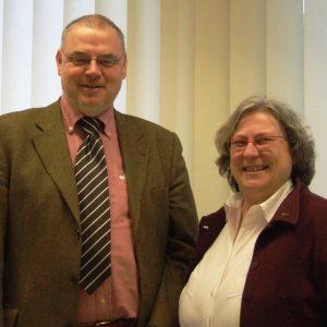 Martin Schilling und Bärbel Richter