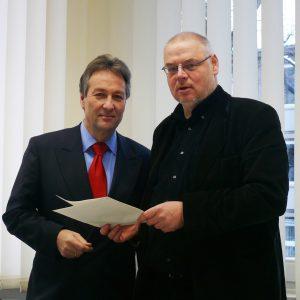 Jürgen Nimptsch und Martin Schilling