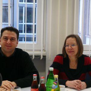 Ernesto Harder, jugend- und familienpolitischer Sprecher und Gieslint Grenz, schulpolitische Sprecherin der SPD-Fraktion