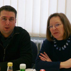 Ernesto Harder und Gieslint Grenz