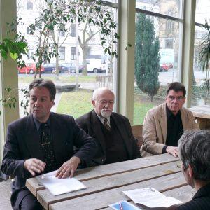 Jürgen Nimptsch, Bernhard von Grünberg und Rolf Eichenhorst