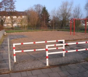 Spielplatz Anfang März 2009