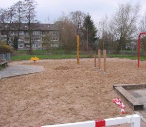 Spielplatz Logsweg Ende März 2009