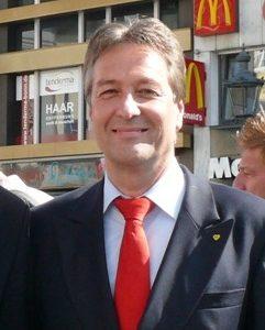 Jürgen Nimptsch, Kandidat der SPD für das Amt des Oberbürgermeisters der Stadt Bonn